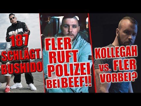187 Strassenbande überholt Bushido !!   Beef in Berlin: Fler ruft POLIZEI!!   Kollegah & Fler Beef