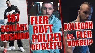 187 Strassenbande überholt Bushido !! | Beef in Berlin: Fler ruft POLIZEI!! | Kollegah & Fler Beef