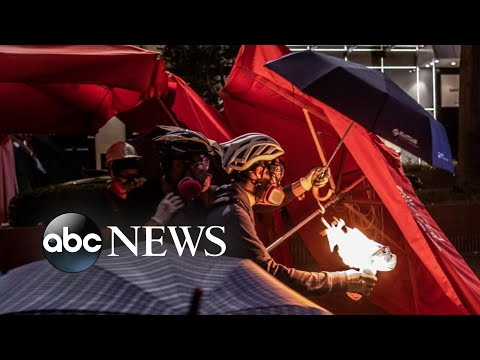 'Citizen X' and Hong Kong protesters' battle for freedom | Nightline