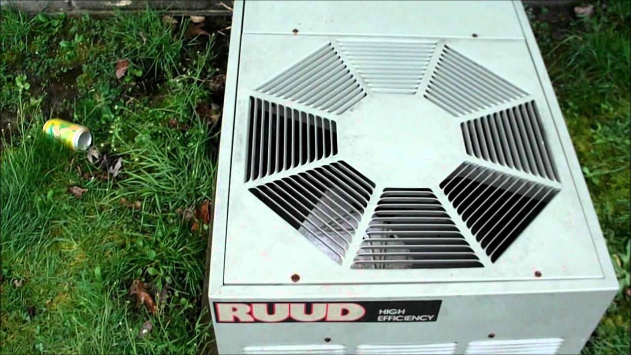 My Ruud Ac Unit Short Coil Cleaning And Third Startup Of