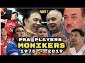 List of PBA Player MONIKERS and Nicknames  (Part 1)