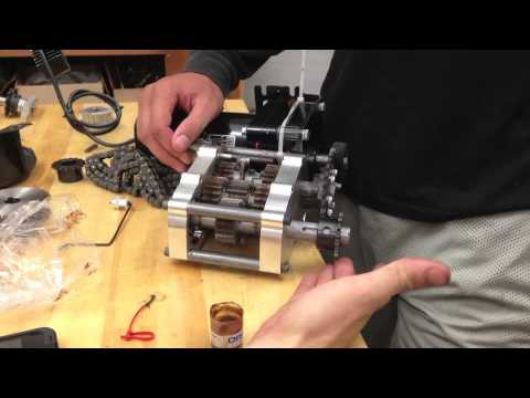 koin 2 speed transmission - 0.5 hp electric motor test - YouTube