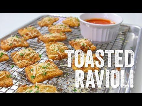 Toasted Ravioli Recipe : Season 5, Ep. 5 – Chef Julie Yoon