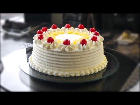 Pineapple cake , Soft and juicy pineapple cake