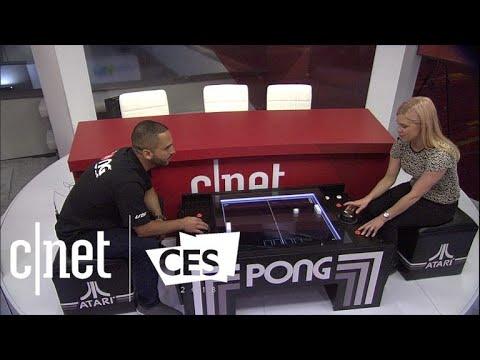 The Pong coffee table is old-school Atari fun with a modern twist