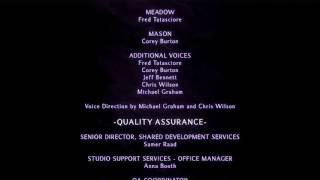 The Legend of Spyro: Dawn of the Dragon Cutscene 46 - Credits