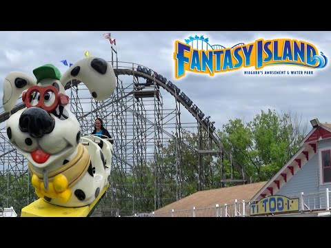 Fantasy Island Theme Park Tour & Review With The Legend