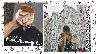 WHAT I ATE TODAY IN EUROPE #5 | How I Traveled Vegan/Vegetarian