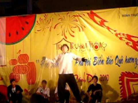 Trại Xuân 2010 THPT Trần Phú A8 Dance ! P2
