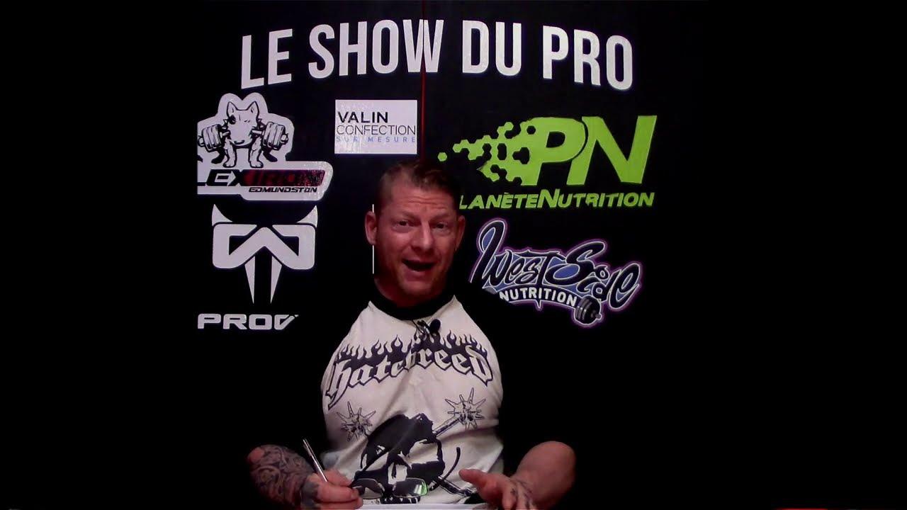 Le Show du Pro - Les stéroïdes et l'aromatisation partie 1