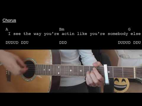 Avril Lavigne – Complicated EASY Guitar Tutorial With Chords / Lyrics