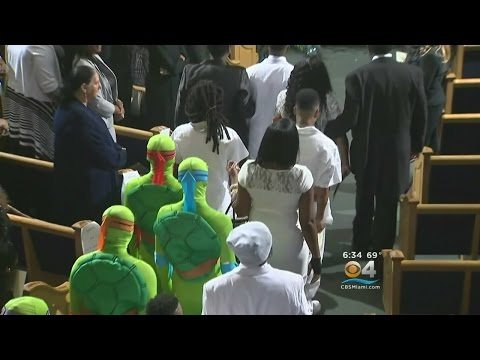 Funeral Held For King Carter, 6, Killed In Miami Shootout