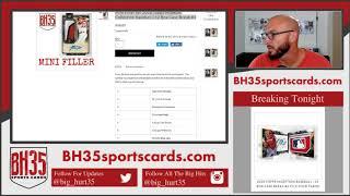 Mini Filler for 2018 Topps Museum Collection Baseball  12 Box Case Break #1