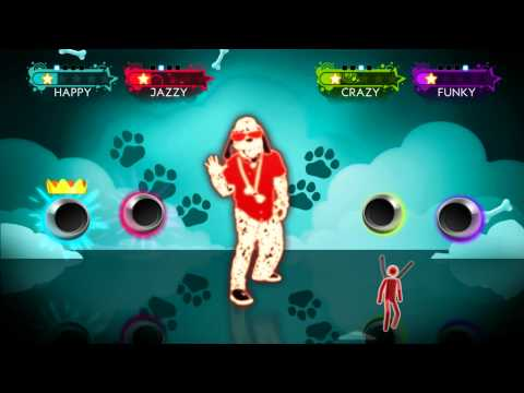 Just Dance 3  Who Let The Dogs Out Wii Footage