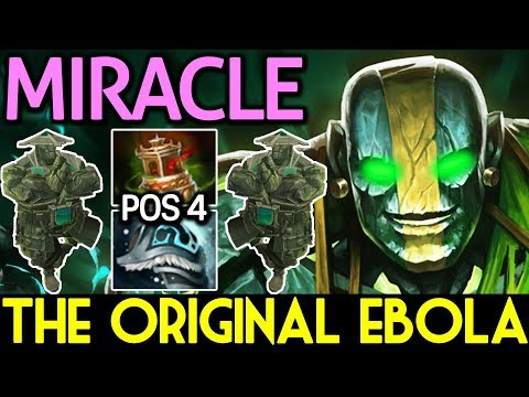 Miracle- Dota 2 [Earth Spirit] The Original Ebola - Pos 4 Roaming