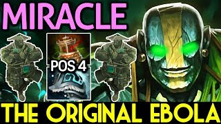Miracle- Dota 2 [Earth Spirit] The Original Ebola - Pos 4 Roaming