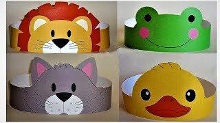 Аппликация Рукоделие для детей Детские маски