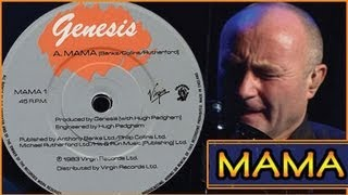 Genesis - Mama - Phil Collins - Lyrics (THE BEST VERSION)