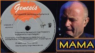 Genesis - Mama - Phil Collins - Lyrics (THE BEST VERSION)