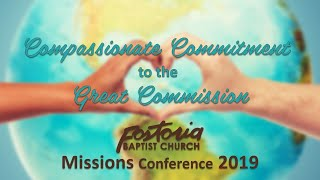 10/30/2019 - Missions Conference 2019