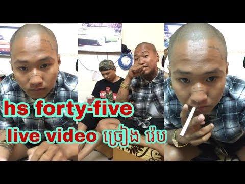 Hs Forty-five Live Video Rap 2019