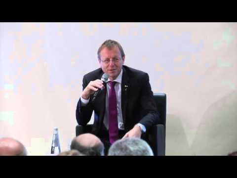GNF ESA Director General Jan Woerner meets the Press