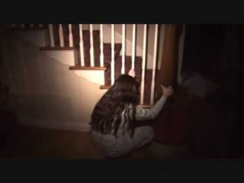 Paranormal activity scary scene with grandma's