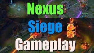Nexus Siege Gameplay | League of Legends