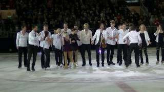 "Ледовое шоу ""Kings on Ice"" в Риге. Финал"