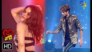 Phalguni and Pandu Performance | Dhee Jodi | 10th July 2019 | ETV Telugu