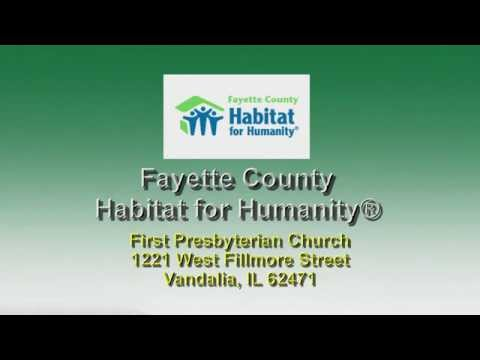 Vandalia, IL | Fayette County Habitat for Humanity® - Illinois