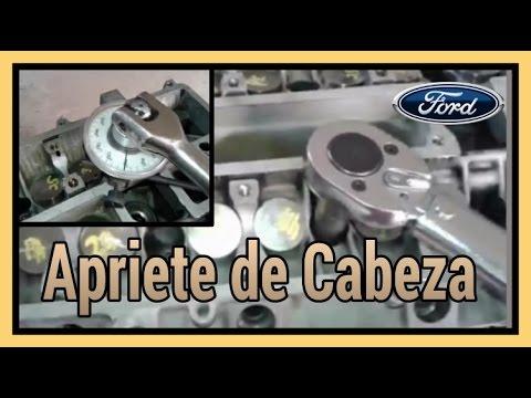 Apriete de Cabeza, Ford 2.0- 2.3-2.5 Duratec #8 - YouTube