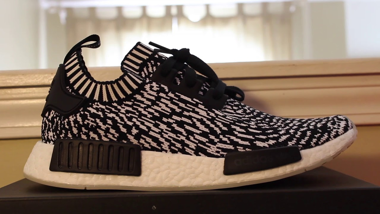 ed3721f91e381 Black Zebra Pack NMD Adidas REVIEW 2017 - YouTube