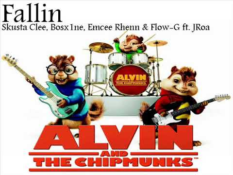 Fallin' - ExB - Skusta Clee, Bosx1ne, Emcee Rhenn & Flow-G ft. JRoa  (THE CHIPMUNKS COVER  )