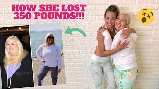 INCREDIBLE Weight Loss Story  + Workout Moves for Beginners!!