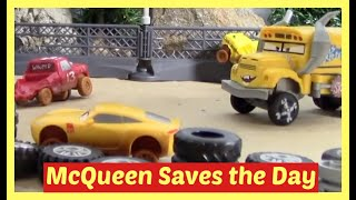 Lightning McQueen and Cruz Toy Cars   Ms. Fritter wants to win   Accidents will happen.
