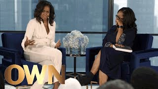 Michelle Obama Reflects on Barack Obama's Childhood | Oprah's Book Club | Oprah Winfrey Network