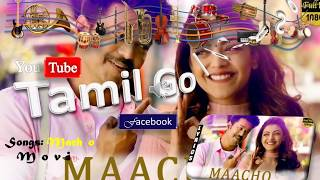 Mersal - Macho Tamil Song| Vijay, Kajal Aggarwal | A R Rahman | Atlee