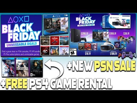 ps4-black-friday-deals-revealed-+-new-psn-sale-+-free-ps4-game-rental!