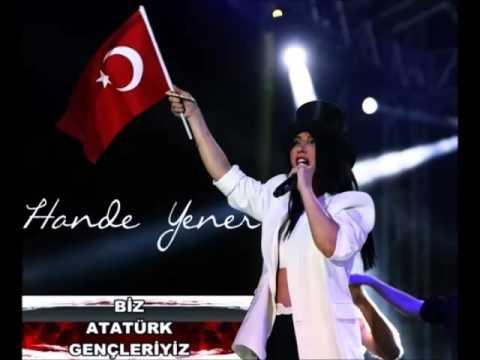 Hande Yener - Biz Atatürk Gençleriyiz (Marş)