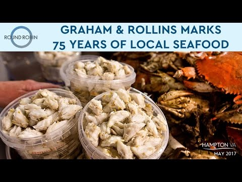 Graham & Rollins marks 75 years of local seafood