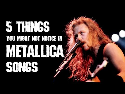 5 things you might NOT notice in Metallica songs w/ TABS | Andriy Vasylenko