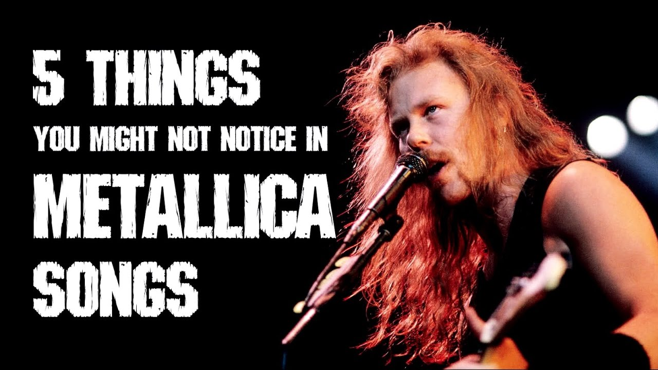 5 things you might NOT notice in Metallica songs (ADVANCED ...