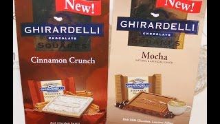 Ghirardelli: Cinnamon Crunch & Mocha Review