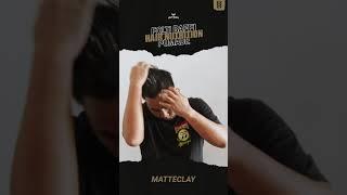 Pomade Matte Clay Untuk Penataan Rambut Dengan Hasil Matte dan Tahan Lama