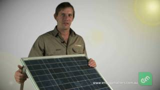 Solar Workshop - Solar Panel Basics
