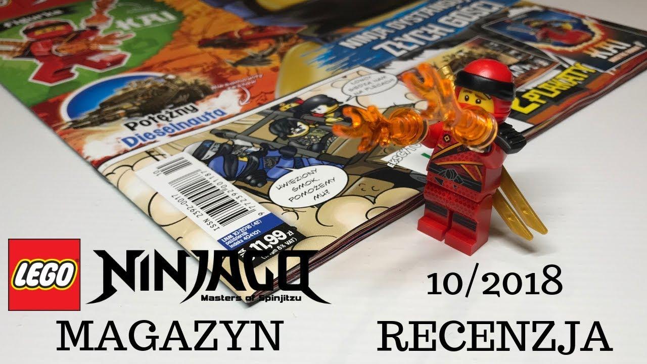 Magazyn Lego Ninjago 102018 Recenzja Youtube