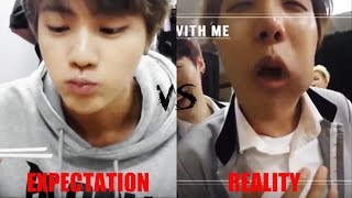 BTS (Bangtan Boys) Crack part 3 // Expectations vs Reality
