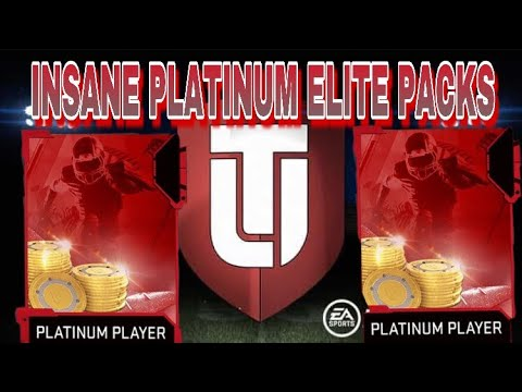 INSANE LIMITED TIME CORE PLATINUM ELITE PLAYER PACK OPENING!! MADDEN 19 ULTIMATE TEAM