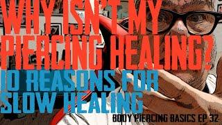 Why Isn't My Piercing Healing? Body Piercing Basics EP 32